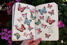 Wreck this journal ideas — myiuu: Wreck this journal - Collect dead bugs here