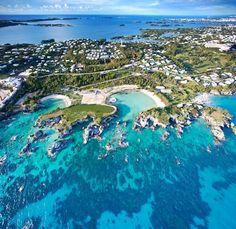Bermuda #Bermuda - Site of former Sonesta Beach Hotel where I honeymooned