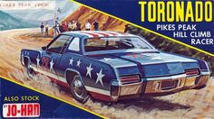 Vintage Models, Old Models, Model Kits For Adults, Oldsmobile Toronado, Gm Car, Plastic Model Cars, Model Cars Kits, Factory Design, Pikes Peak