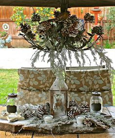 Creating a Winter Patio Tablescape - One More Time Events