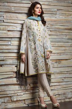 Khaadi - O16704-OFF-WHITE - Women - New Arrivals