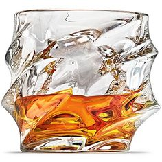Buy Everest Whiskey Glasses, Scotch Glasses By Ashcroft - Set Of Unique, Elegant, Dishwasher Safe, Glass Liquor or Bourbon Tumblers. Good Whiskey, Scotch Whiskey, Irish Whiskey, Whiskey Sour, Liquor Glasses, Whiskey Glasses, Whiskey Decanter, Old Fashioned Glass, Old Fashioned Cocktail