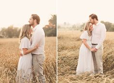 wheat field and morning light - would be nice for maternity photos
