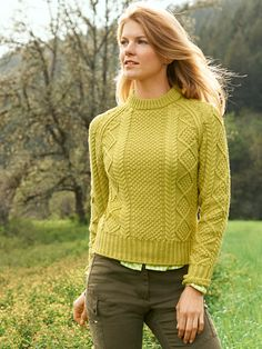 Signature Cotton Fisherman Sweater: SWEATERS | Free Shipping at L.L.Bean
