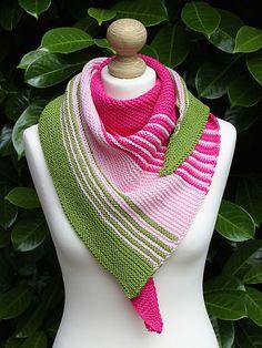 Ravelry: Stashy Josephine shawl pattern by Julia Riede