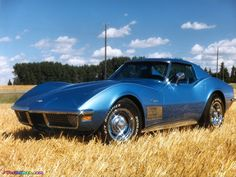 1971 Corvette Stingray Blue