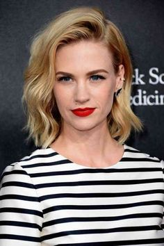 From Beyonce to January Jones and Jennifer Lawrence, get inspired by the 20 chicest lob hairstyles of the year! Description from pinterest.com. I searched for this on bing.com/images