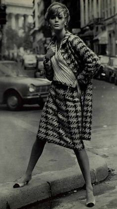 1965 - Chanel tweed suit