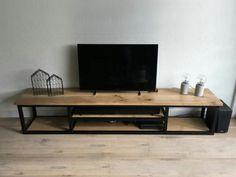 me / # # furniture # # brown # # black # Tv Unit Furniture, Iron Furniture, Steel Furniture, Home Decor Furniture, Home Decor Bedroom, Furniture Design, Room Decor, Condo Living Room, Muebles Living