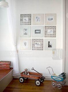 Scrap papereilla voit tuunata tauluja ja saat luotua sisustukseen sopivan katseenvangitsevan kollaasin.