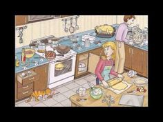 Kitchen utensils, food preparation and cookware Video - Learning English with videos and pictures