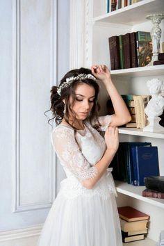7215054b As 13 encantadoras imagens do álbum Glúten | Bridal headpieces ...