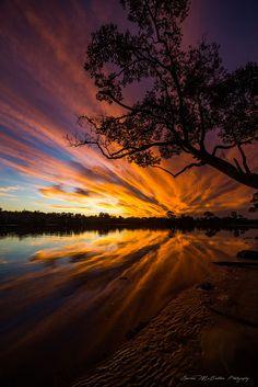 **Fiery Reflections** by Damian McCudden on 500px http://infinitealoe.com/