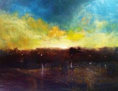 "Saatchi Art Artist Maurice Sapiro; Painting, ""Paris Sunset II - SOLD"" #art"
