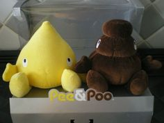 Pee and Poo - soft toys