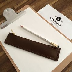 Pencil Case - Hammered Leatherworks DIY kits for all crafters leather DIY craft