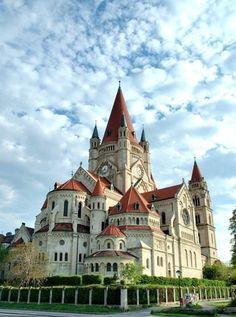 Church in Vienna, Austria