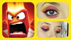 DISNEY'S Pixar Inside Out 'Anger' INSPIRED Makeup