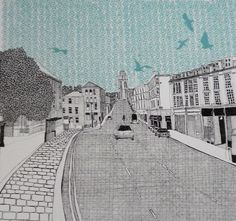 Contemporary Fine Art Images of Bristol and Clifton by Clare Halifax