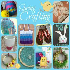 Fun Spring Fabric and Fiber Crafts | FiberArtsy.com