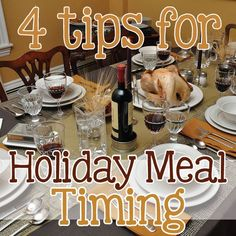 4 Tips for Holiday Meal Timing » Daily Mom