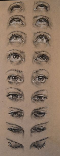 How to Draw an Eye (Step by Step Pictures Guides) How to Draw an Eye (Step by Step Pictures Guides) Elli Camelli ellicam Cry Drawing, Anatomy Drawing, Drawing Poses, Drawing Tips, Crying Eye Drawing, Eye Anatomy, Drawing Hair, Gesture Drawing, Figure Drawing