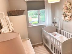 Baby Sienna's Nursery Reveal – The Home That Made Me - babyzimmer-ideens Baby Nursery Themes, Baby Boy Rooms, Baby Bedroom, Baby Room Decor, Baby Boys, Nursery Ideas, Small Baby Nursery, Small Space Nursery, Babies Nursery