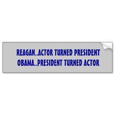 Funny, anti Obama Bumper Sticker