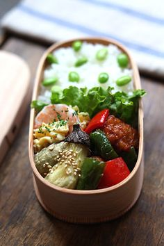 Obento, Japanese lunch box.