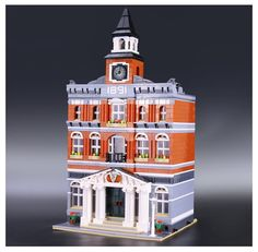 69.50$  Watch now - http://aliwg8.worldwells.pw/go.php?t=32710542186 - 15003 New 2859Pcs 2016 LEPIN Kid's Toys Creators The town hall Model Building Kits Minifigure Building Blocks legeo Bricks Gif 69.50$