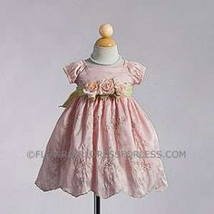 Possible Easter dress. $39.99 embroidered taffeta