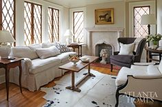 white & gray with great windows