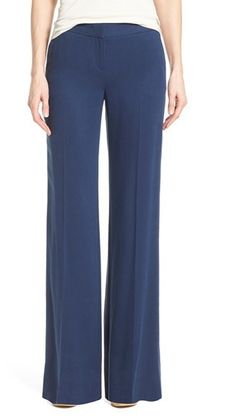 Can't get enough of these Halogen Flat Front Wide Leg Pants on ShopStyle.