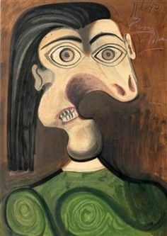 Woman's Portrait, 1940 By Pablo Picasso