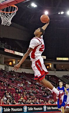 Paul George in college at Fresno State