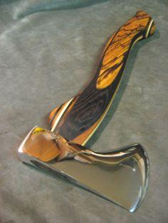 Blacksmith Hand Forged Viking Bearded Spike Tomahawk