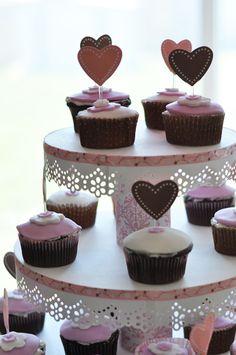 DIY cupcake stand (Bridal shower) :  wedding bridalshower cake cupcakes diy pink stand Stand1