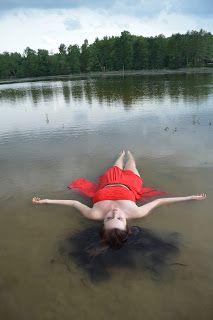 INKA blogger: Focení u vody
