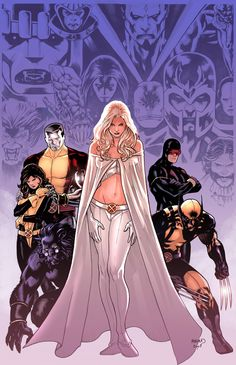 Astonishing X-Men variant by PaulRenaud.deviantart.com on @deviantART
