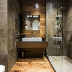 Beautiful bathroom designed by Pavel Isae