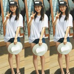 """[160229] Song Ji Hyo in Bali, Indonesia for shooting <We are in Love> ~ sorry i'm just crop with original pics. (© weibo owner)"""