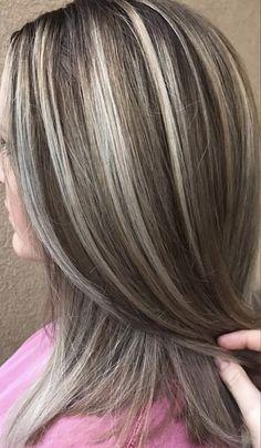 6 Great Balayage Short Hair Looks – Stylish Hairstyles Gray Hair Highlights, Hair Color Balayage, Short Balayage, Balayage Hairstyle, Haircolor, Frosted Hair, Transition To Gray Hair, Brown Blonde Hair, Grey Hair