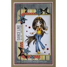 Galleries :: Teenage Girls - Digital & Rubber Stamps for Every Scene - Make it Crafty