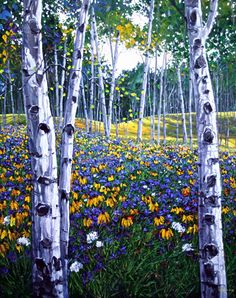 Aspen Art by Jennifer Vranes