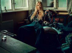 Camilla Christensen in ELLE Sweden October 2015 Editorial Photoshoot