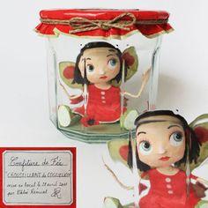 fairy in a jar by Chloé Rémiat