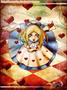 Alice in Wonderland by Maye1a.deviantart.com on @deviantART