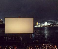 Epic open air cinema  #stgeorgeopenair #stgeorges #cinema #openaircinema #sydney #sydneyoperahouse #operahouse #sydneyharbourbridge #harbourbridge #cityscape #skyline #nighttime #epic #viewpoint #mrsmacquarieschair #mrsmacquariespoint #view by wanderlustlaura http://ift.tt/1NRMbNv