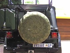 Makes the spare tire look beautiful!