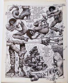 Fakir Zappa !!! par Jean Solé, Gotlib, Alain Dister - Planche originale